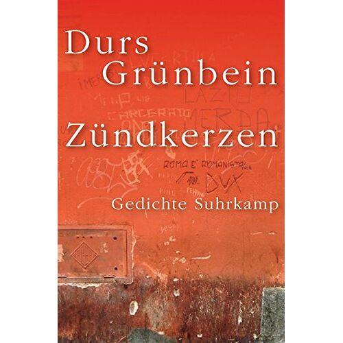 Durs Grünbein - Zündkerzen: Gedichte - Preis vom 18.04.2021 04:52:10 h