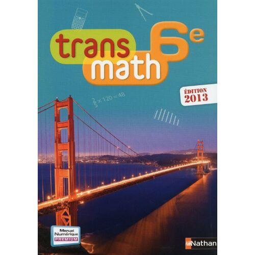 Joël Malaval - Trans math 6e - Preis vom 24.02.2021 06:00:20 h