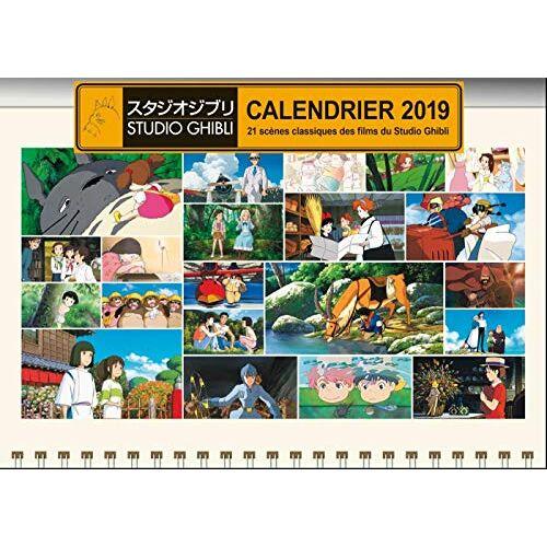 - Calendrier studio Ghibli : 21 scènes classiques des films du Studio Ghibli - Preis vom 19.01.2021 06:03:31 h