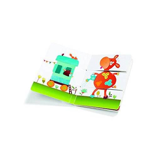 - Lilliputiens 86444 - Bauernhof Multi-Kombinationsbuch, Sortier, 23 x 17 x 1 cm, mehrfarbig - Preis vom 20.10.2020 04:55:35 h