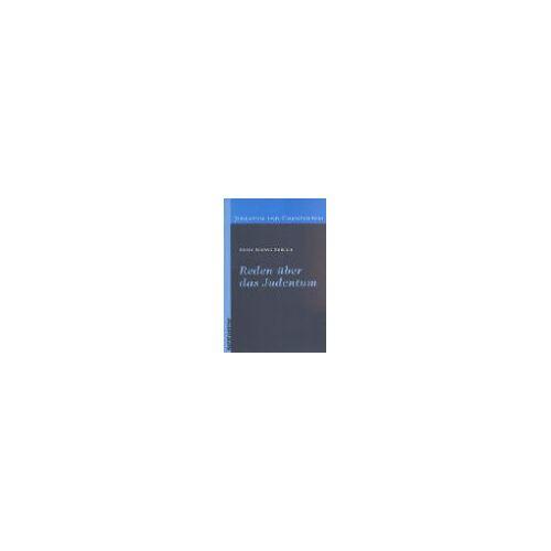 Ehrlich, Ernst L - Reden über das Judentum (Judentum und Christentum) - Preis vom 04.09.2020 04:54:27 h