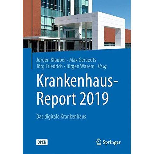 Jürgen Klauber - Krankenhaus-Report 2019: Das digitale Krankenhaus - Preis vom 14.04.2021 04:53:30 h