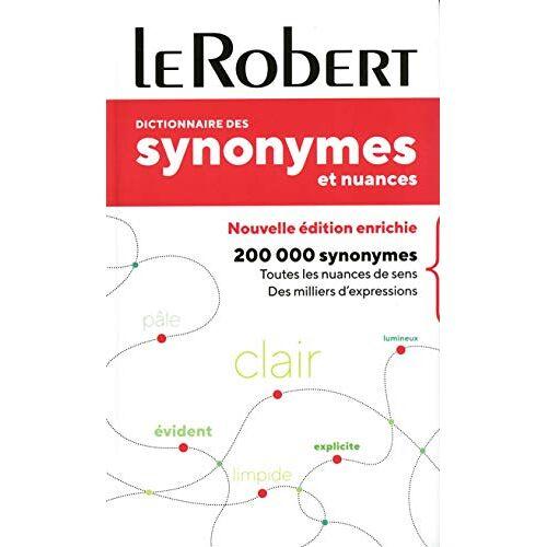 - Dictionnaire des synonymes et nuances - poche+ (SYNONYMES & NUANCES POCHE) - Preis vom 21.10.2020 04:49:09 h