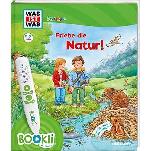 Claudia Kaiser - BOOKii® WAS IST WAS Junior Erlebe die Natur! (BOOKii / Antippen, Spielen, Lernen) - Preis vom 14.05.2021 04:51:20 h