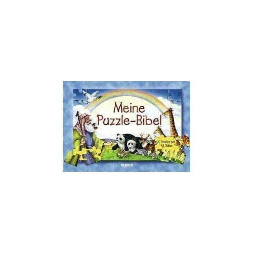 Amy Snow - Meine Puzzle-Bibel: Fünf Puzzles mit je 48 Teilen - Preis vom 24.02.2021 06:00:20 h