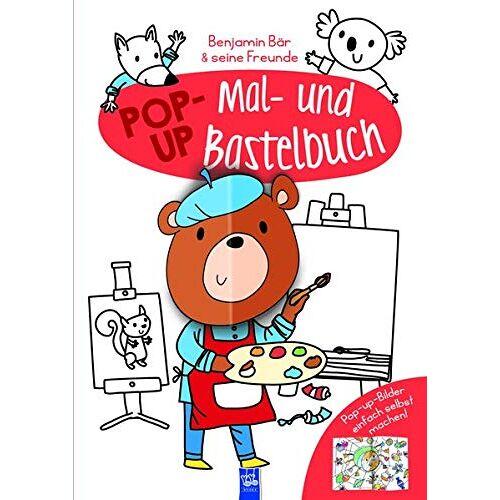 - Pop-Up Mal- und Bastelbuch Bär - Preis vom 21.01.2021 06:07:38 h