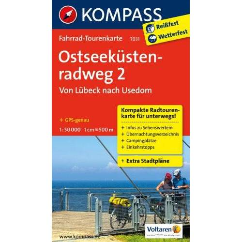 - Ostseeküstenradweg 02 von Lübeck nach Usedom 1 : 50 000: Fahrrad-Tourenkarte. GPS-genau - Preis vom 25.02.2021 06:08:03 h