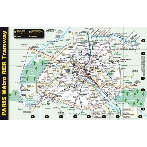 Blay-Foldex - Paris, plan du Métro, du Tramway et du RER - Preis vom 27.10.2020 05:58:10 h