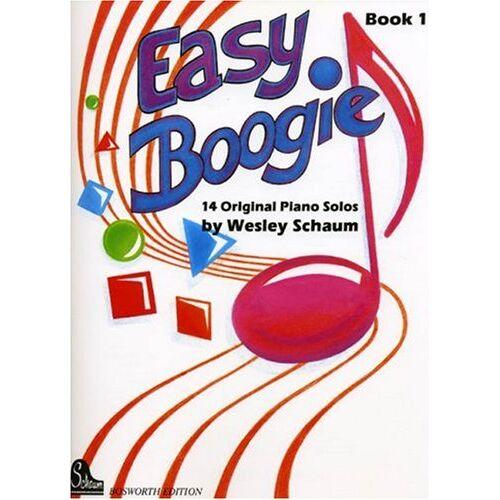 John Wesley Schaum - Easy Boogie 1. 14 Original Piano Solos. Für Klavier - Preis vom 09.04.2021 04:50:04 h