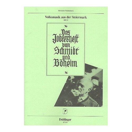 SCHMIDT BOEHEIM - JODELHEFT - Preis vom 24.01.2021 06:07:55 h
