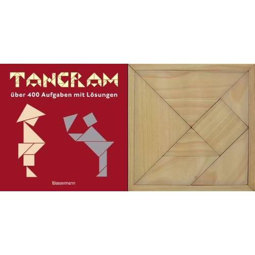 Norbert Pautner - Tangram-Set: über 400 Puzzles mit Lösungen. Buch und Holztangram: über 400 Aufgaben mit Lösungen. Buch und Holzlegespiel - Preis vom 27.02.2021 06:04:24 h