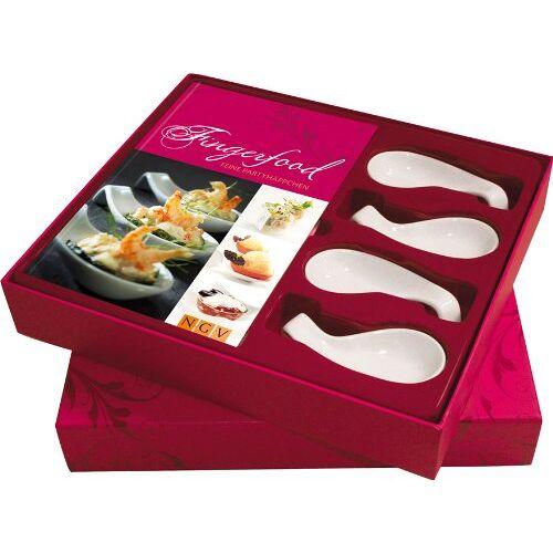 - Fingerfood: Feine Partyhäppchen. Buch mit 4 Häppchenlöffeln in Geschenkbox (Buch plus) - Preis vom 05.09.2020 04:49:05 h