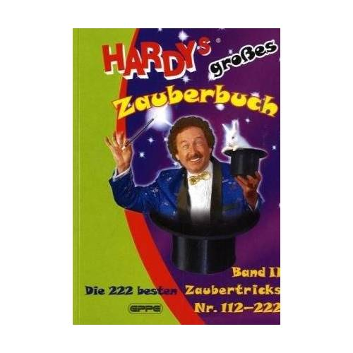 Zauberer Hardy - Hardys großes Zauberbuch, Band 2: Die 222 besten Zaubertricks Nr 112-222 - Preis vom 15.04.2021 04:51:42 h