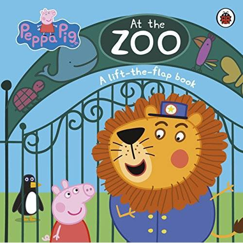 Peppa Pig - Peppa Pig: At the Zoo: A Lift-the-Flap Book (Peppa Pig Lift the Flap Book) - Preis vom 17.01.2021 06:05:38 h