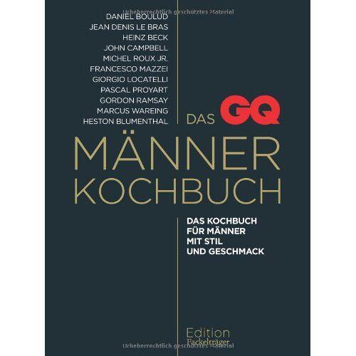 - Das GQ-Männerkochbuch: Das Kochbuch für Männer mit Stil und Geschmack - Preis vom 24.02.2021 06:00:20 h