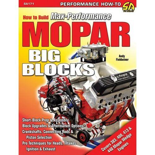 Andrew Finkbeiner - How to Build Max-Performance MOPAR Big-Blocks (S-A Design) - Preis vom 21.10.2020 04:49:09 h