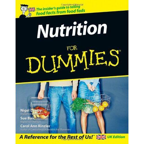 Nigel Denby - Nutrition For Dummies - Preis vom 25.01.2021 05:57:21 h