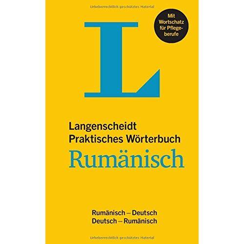 Redaktion Langenscheidt - Langenscheidt Praktisches Wörterbuch Rumänisch: Rumänisch-Deutsch/Deutsch-Rumänisch (Langenscheidt Praktische Wörterbücher) - Preis vom 18.04.2021 04:52:10 h