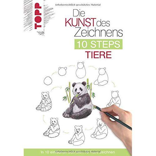Heather Kilgour - Die Kunst des Zeichnens 10 Steps - Tiere: In 10 einfachen Schritten 75 Tiere zeichnen - Preis vom 05.06.2020 05:07:59 h