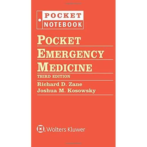 Zane, Richard D. - Pocket Emergency Medicine (Pocket Notebook) - Preis vom 13.05.2021 04:51:36 h