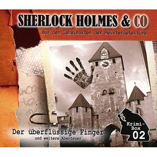 Sherlock Holmes & Co - Sherlock Holmes & Co-Die Krimi Box 2 (3 CDs) - Preis vom 27.01.2021 06:07:18 h