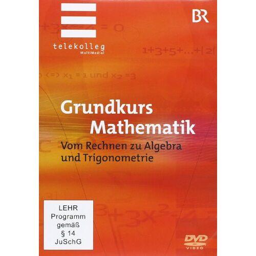 - Grundkurs Mathematik - Vom Rechnen zu Algebra und Trigonometrie [3 DVDs] - Preis vom 12.05.2021 04:50:50 h