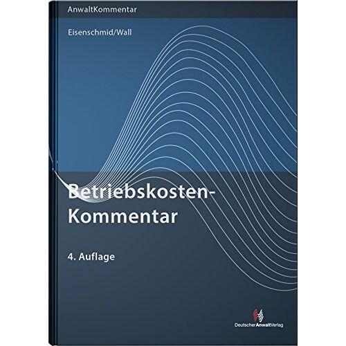 Dietmar Wall - BetriebskostenKommentar - Preis vom 18.10.2020 04:52:00 h