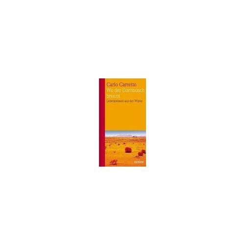 Carlo Carretto - Wo der Dornbusch brennt - Preis vom 26.02.2021 06:01:53 h
