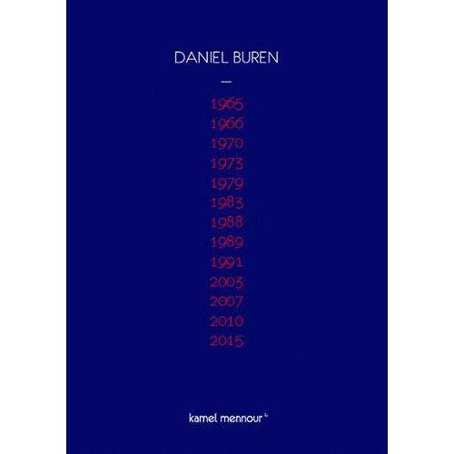 - Daniel Buren - 1965-2015 - Preis vom 14.04.2021 04:53:30 h