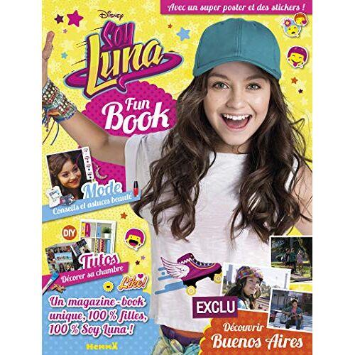 Disney - Soy Luna Fun Book : Avec un poster et des stickers - Preis vom 20.10.2020 04:55:35 h