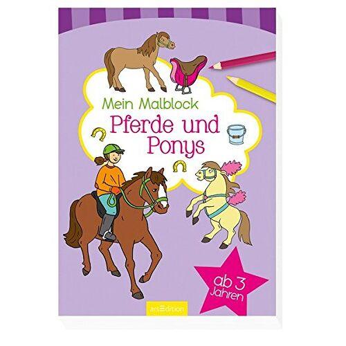 - Malblock ab 3 Jahren - Pferde und Ponys - Preis vom 19.09.2019 06:14:33 h