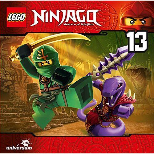 Lego Ninjago-Masters of Spinjitzu - Lego Ninjago (Cd13) - Preis vom 26.01.2020 05:58:29 h