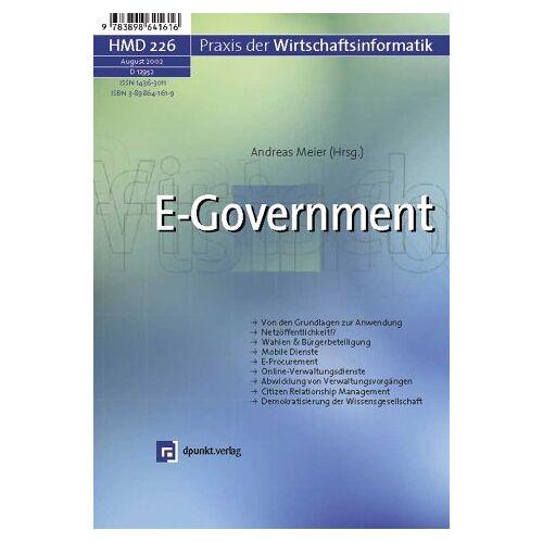 Andreas Meier - E-Government - Preis vom 18.04.2021 04:52:10 h