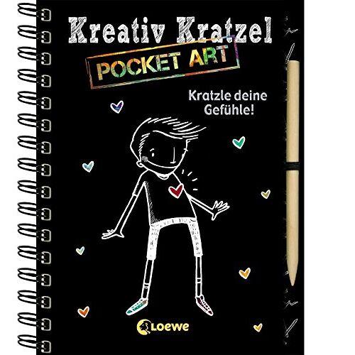 - Kreativ-Kratzel Pocket Art: Kratzle deine Gefühle! (Kreativ-Kratzelbuch) - Preis vom 20.10.2020 04:55:35 h