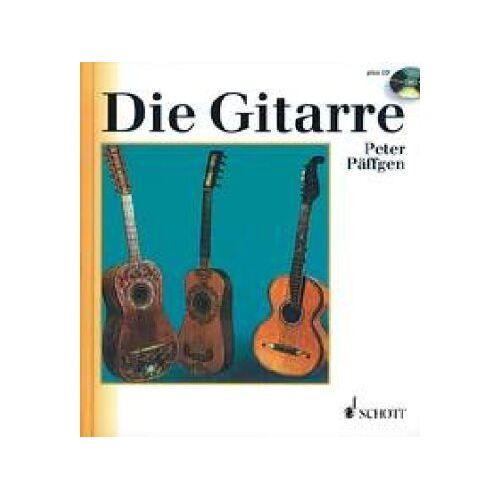 Peter Päffgen - Die Gitarre: Geschichte, Spieltechnik, Repertoire, Grundzüge ihrer Entwicklung. Ausgabe mit CD. (Unsere Musikinstrumente) - Preis vom 05.09.2020 04:49:05 h