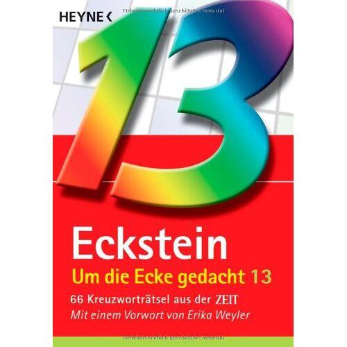 Eckstein - Um die Ecke gedacht 13: 66 Kreuzworträtsel aus der ZEIT - Preis vom 20.01.2021 06:06:08 h