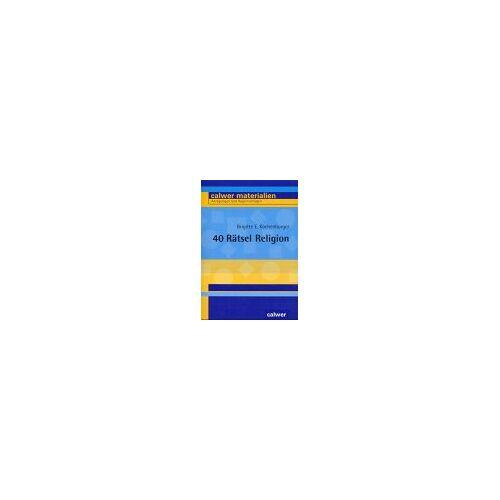 Kochenburger, Brigitte E. - 40 Rätsel Religion - Preis vom 14.05.2021 04:51:20 h