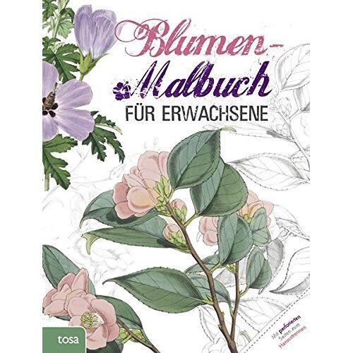 - Blumen-Malbuch für Erwachsene - Preis vom 01.12.2019 05:56:03 h