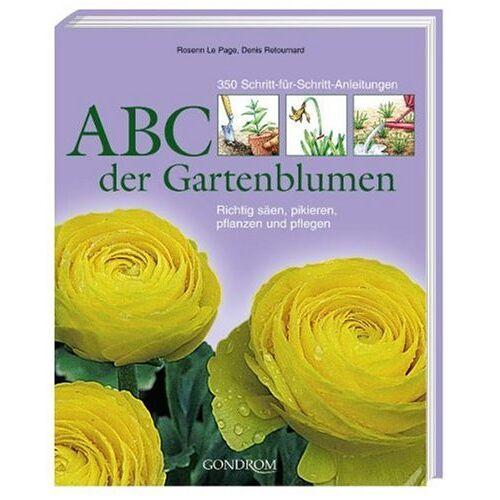 Rosenn Le Page - ABC der Gartenblumen: 350 Schritt-für-Schritt-Anleitungen. Richtig säen, pikieren, pflanzen und pflegen - Preis vom 25.02.2021 06:08:03 h