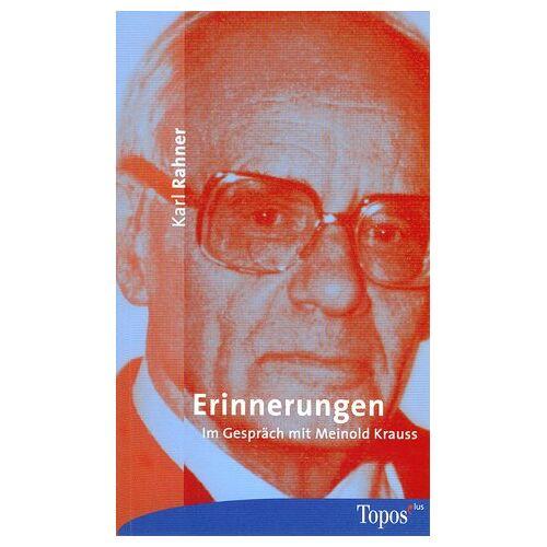 Karl Rahner - Erinnerungen. - Preis vom 24.01.2021 06:07:55 h