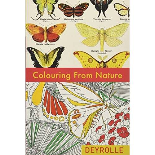 Deyrolle - COLOURING FROM NATURE (Colouring Books) - Preis vom 08.05.2021 04:52:27 h