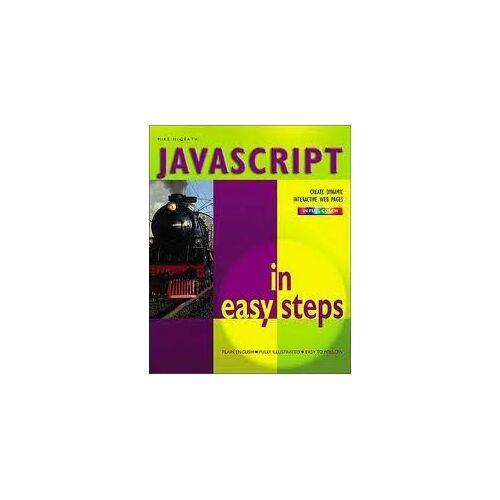 - Javascript in Easy Steps - Preis vom 14.05.2021 04:51:20 h