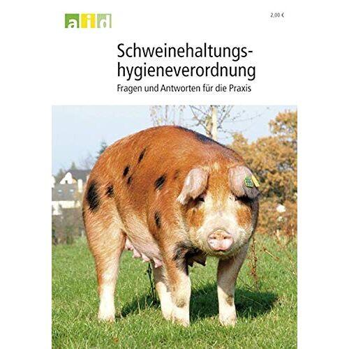 - Schweinehaltungshygieneverordnung - Preis vom 19.10.2020 04:51:53 h