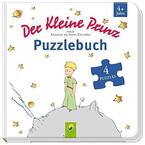 Saint-Exupéry, Antoine de - Der kleine Prinz Puzzlebuch: Mit 4 Puzzles á 12 Teilen - Preis vom 28.02.2021 06:03:40 h