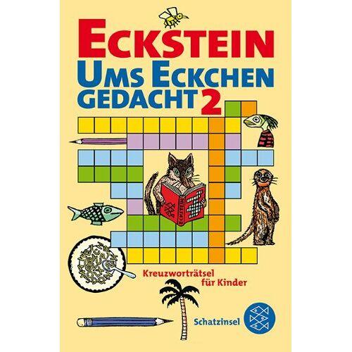 Eckstein - Ums Eckchen gedacht 2: Kreuzworträtsel für Kinder - Preis vom 20.01.2021 06:06:08 h