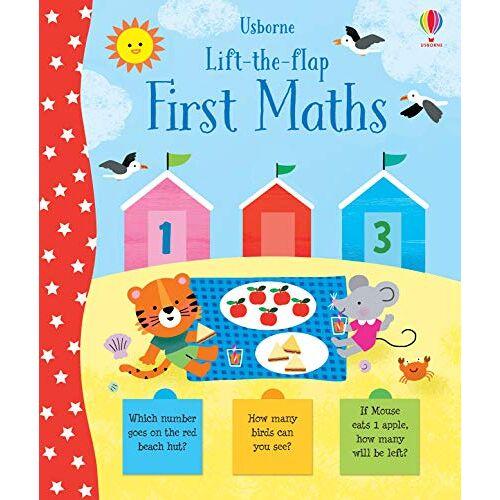 Jessica Greenwell - Greenwell, J: Lift-the-Flap First Maths - Preis vom 21.10.2020 04:49:09 h