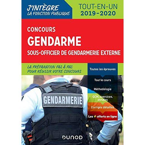 - Concours gendarme sous officier de gendarmerie externe : Tout-en-un - Preis vom 05.09.2020 04:49:05 h