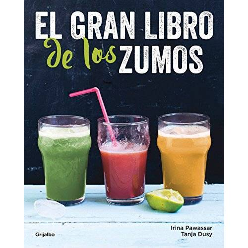 Irina Pawassar - El gran libro de los zumos / Green Smoothies (Vivir mejor) - Preis vom 22.02.2020 06:00:29 h