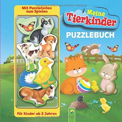Paola Migliari - Puzzlebuch - Meine Tierkinder: Mit 10 Puzzleteilen zum Spielen - Preis vom 01.12.2019 05:56:03 h