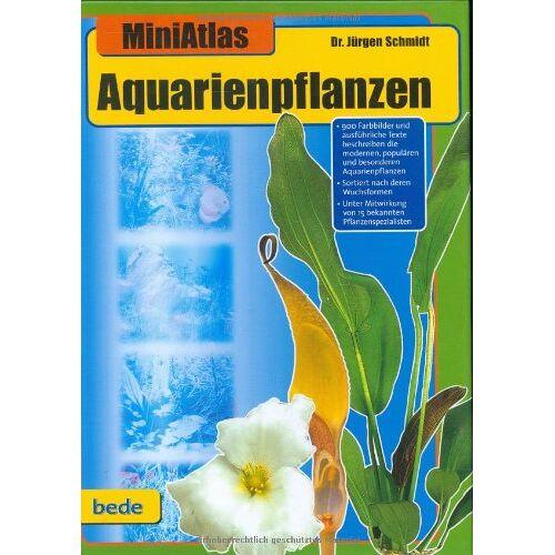 Dr. Jürgen Schmidt - Aquarienpflanzen, MiniAtlas - Preis vom 15.05.2021 04:43:31 h